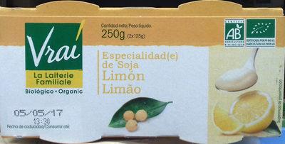 Especialidad de soja Limón - Product - es