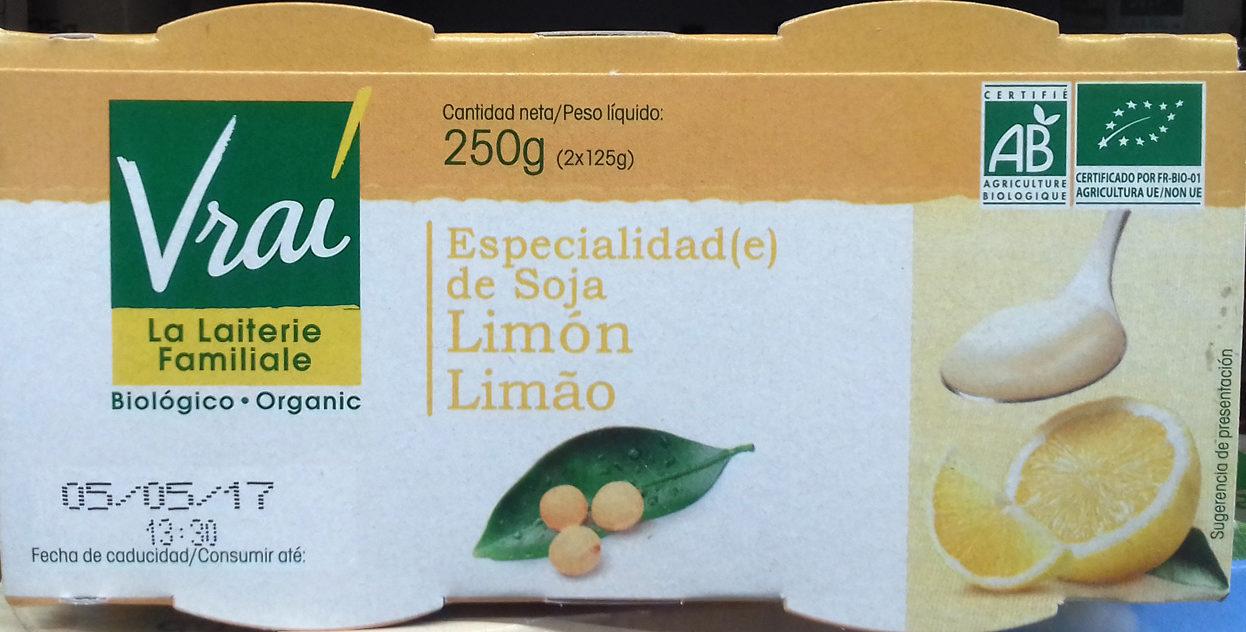 Especialidad de soja Limón - Produit