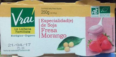 Especialidad de soja Fresa - Producto - es