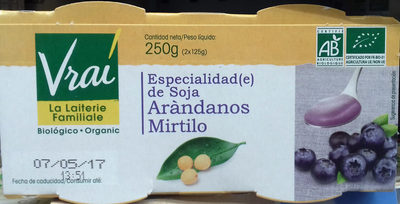 Especialidad de soja Arándanos - Produit - es