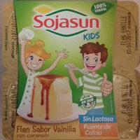Flan sabor vainilla con caramelo - Producto - es