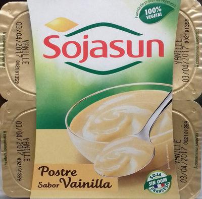 Dessert au soja saveur vanille - Producto