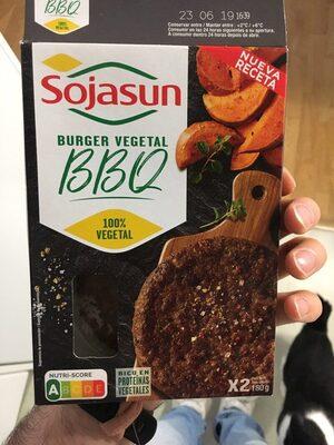 Burger vegetal BBQ - Producte