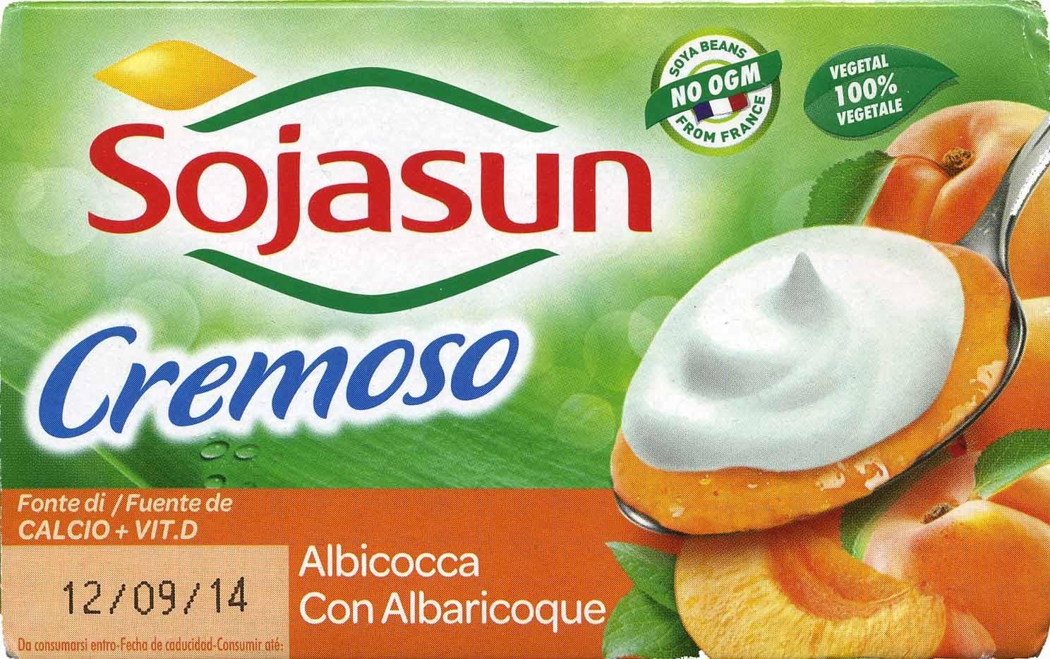 """Postre de soja """"Sojasun"""" Albaricoque Cremoso (2 Uds) - Producto"""