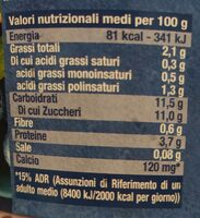 Bifidus mirtillo - Informations nutritionnelles - fr