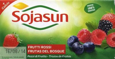 """Postre de soja """"Sojasun"""" frutas del bosque - Producto"""