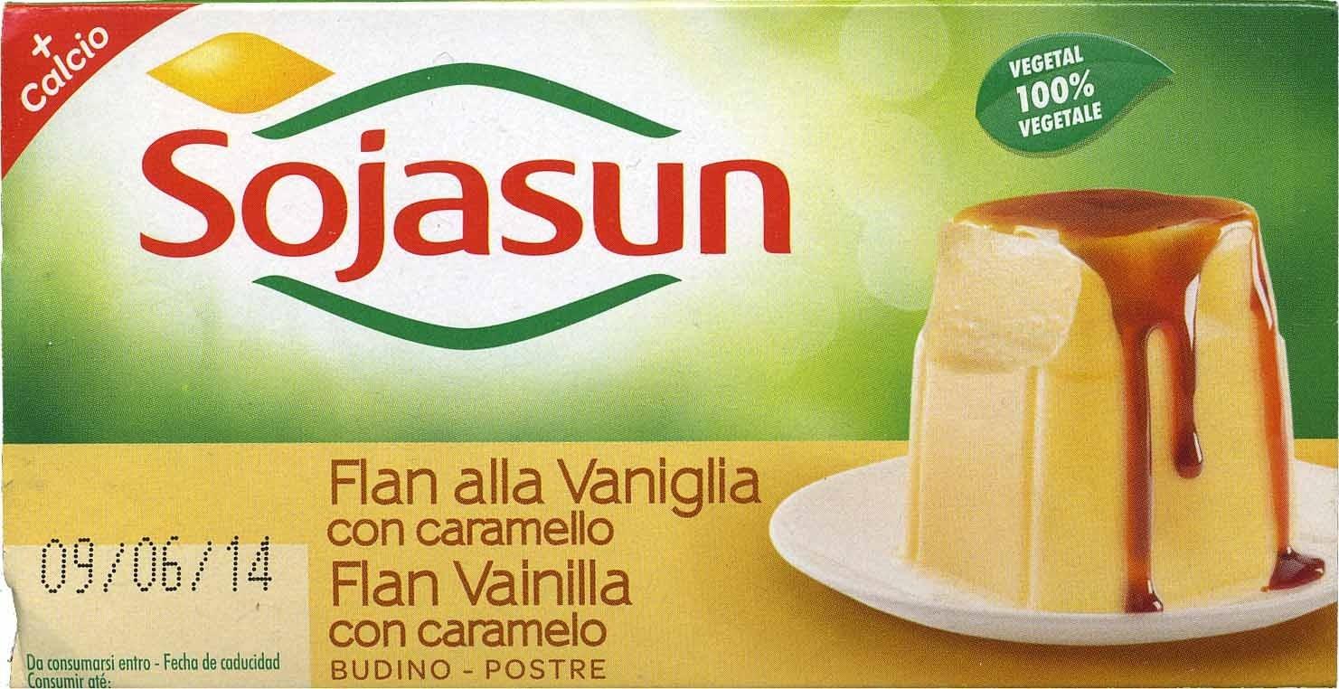 Flan vainilla con caramelo - Producto - es