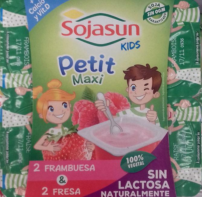 Petit maxi especialidad vegetal de soja - Producte - es
