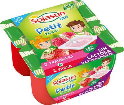 Petit maxi especialidad vegetal de soja - Producto - es