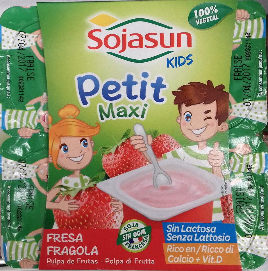 Petit Maxi Fresa - Producte