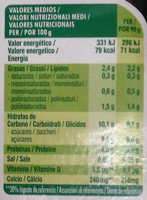 Petit Maxi Fresa - Información nutricional - es