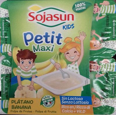 Petit Maxi Plátano - Producto