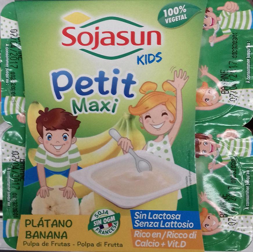 Petit Maxi Plátano - Producto - es