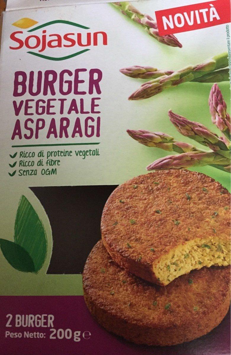 Burger vegetale asparagi - Produit