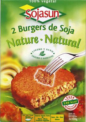 Hamburguesas vegetales Natural - Producto - es