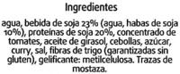 Hamburguesas vegetales Indiana - Ingredients
