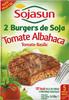 Hamburguesas vegetales Tomate y albahaca - Producto