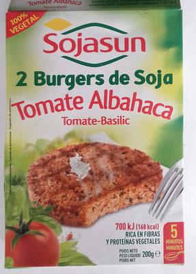 Hamburguesas vegetales Tomate y albahaca - Produit - fr