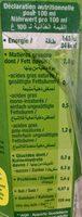 Boisson de soja nature - Informations nutritionnelles - fr