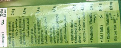 Boisson gourmande soja et coco - Ingrédients