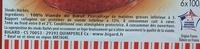 100% Pur Boeuf 5% MG - Ingredients