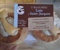 Bouchée Lotte et Saint-Jacques - Product - fr