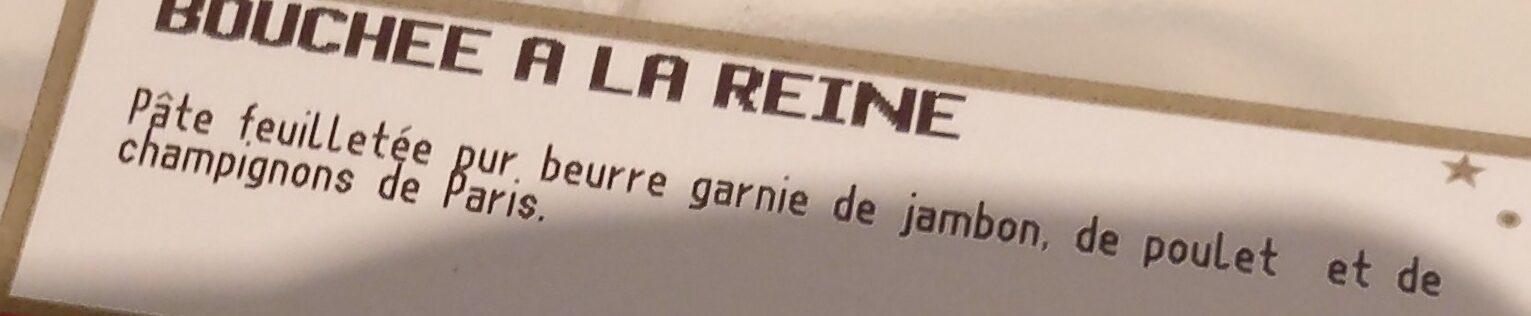 Bouchées à la reine - Ingredients - fr