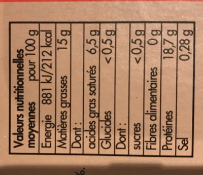 Steaks Hachés Pur Boeuf 15% Mg - Par 10 - Ingredients