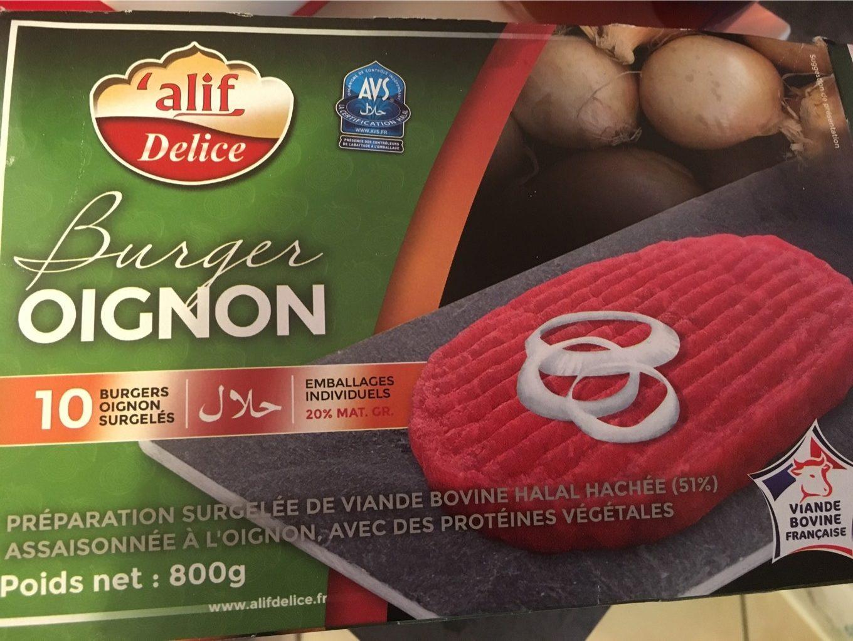 Burger oignon - Produit - fr