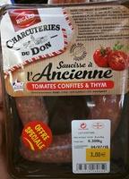 Saucisse à l'Ancienne Tomates Confites & Thym - Product - fr