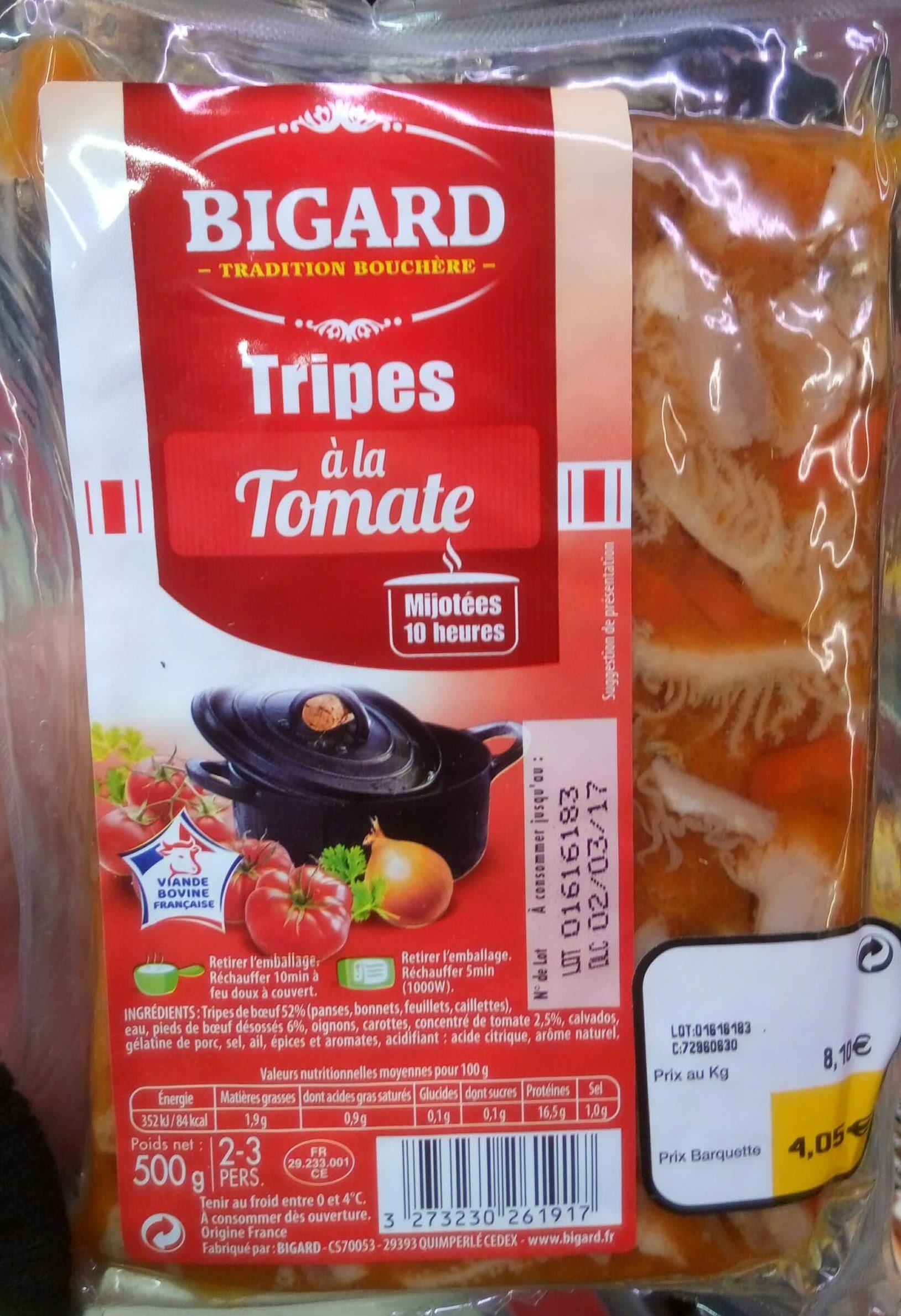 Tripes à la Tomate - Produit - fr