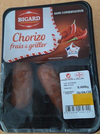 Chorizo frais à griller - Produkt - fr