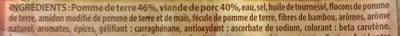Délices de pomme de terre farcies, BIGARD, 4 pièces - Ingrédients - fr