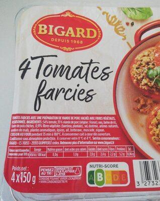 Délices de pomme de terre farcies, BIGARD, 4 pièces - Informations nutritionnelles - fr