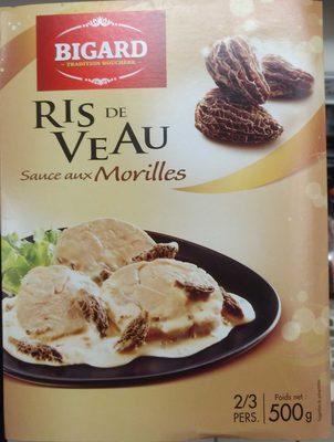 Ris de veau sauce aux morilles - Produit - fr