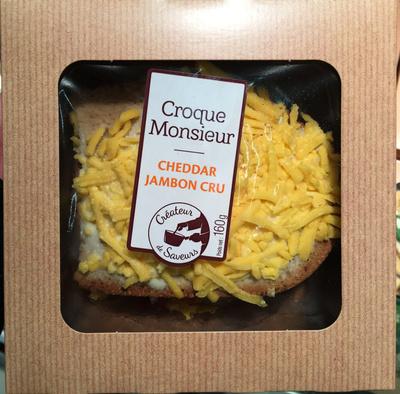 Croque Monsieur Cheddar Jambon cru - Produit - fr