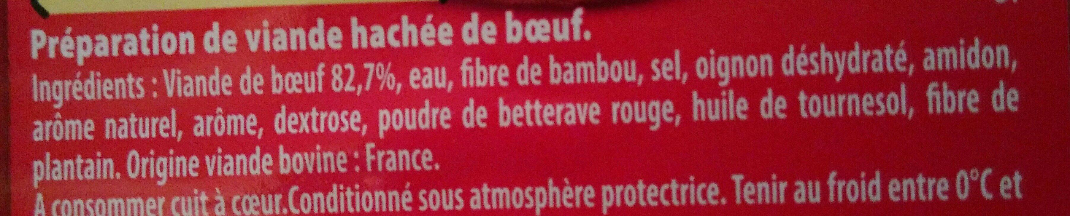 Boulettes au bœuf - Ingrédients