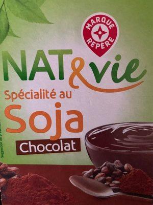 Nat&Vie soécialité au soja chocolat - Produit