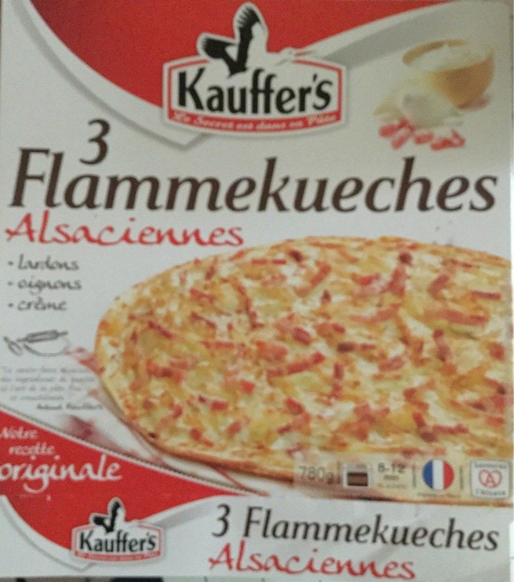 3 flammekueches alsaciennes - Produit - fr