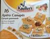 Kauffer's   16 Apéro Canapés - Product
