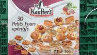 Kauffer's : 50 Petits Fours Apéritifs - Product