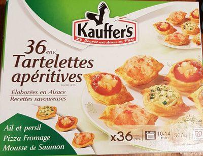 Tartelettes apéritives - Product