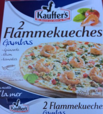 Kauffer's Flammekueches gambas - Produit