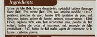 10 Flammekueches alsaciennes lardons oignons - Ingrédients - fr