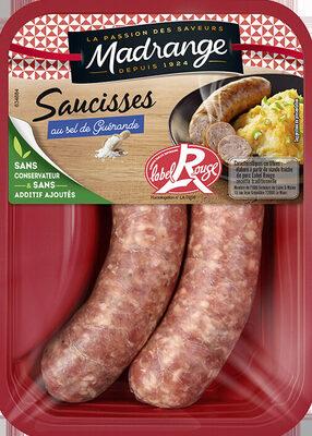 Saucisses au sel de Guérande - Produit - fr