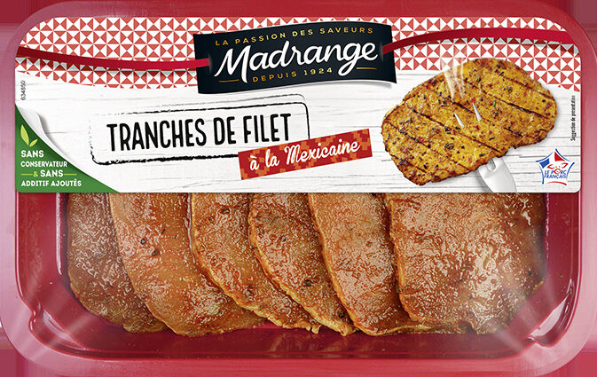 Tranches de filet à la mexicaine - Product - fr