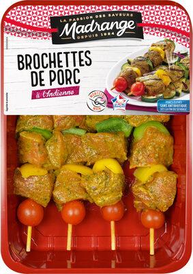 Brochettes de porc à l'indienne - Product - fr