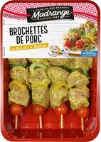 Brochette de porc au miel et à la moutarde - Product - fr