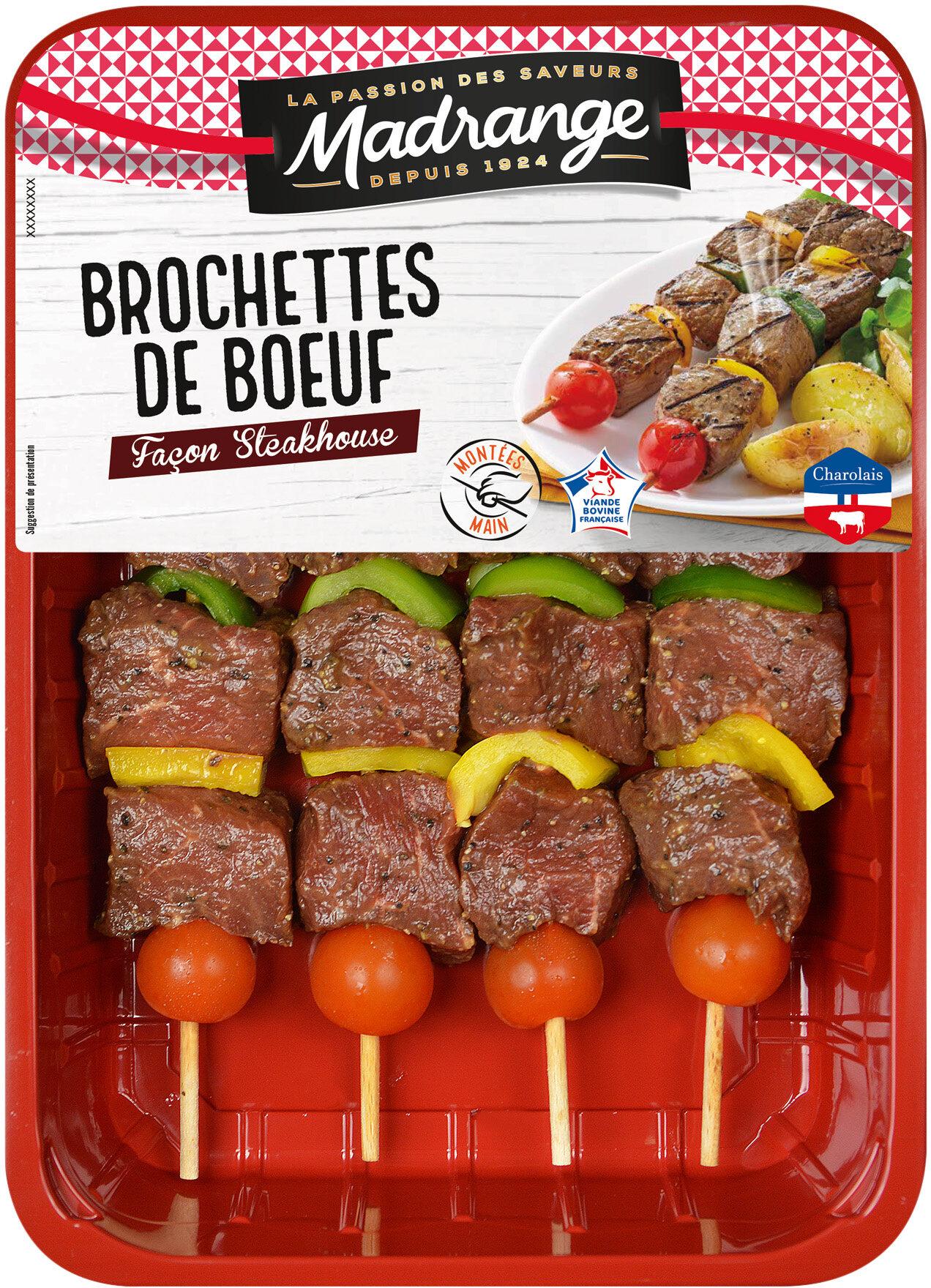 Brochettes de boeuf façon steakhouse - Product - fr