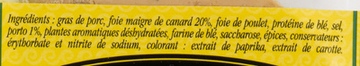 Mousse de Canard au Porto - Ingrediënten - fr